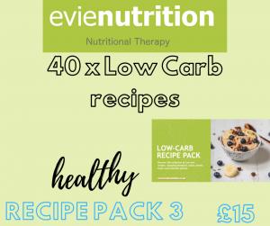 healthy low Carb recipe