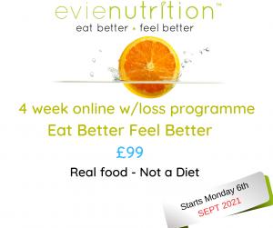 Eat Better nutrition evienutrition