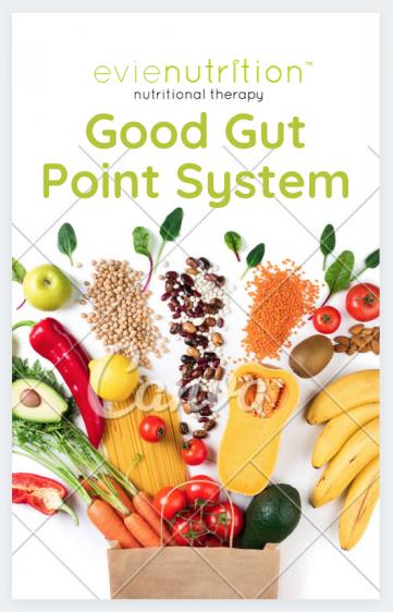 Evienutrition Good gut point system
