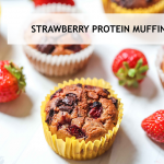 Strawberry Protein Muffin Evie Nutrition