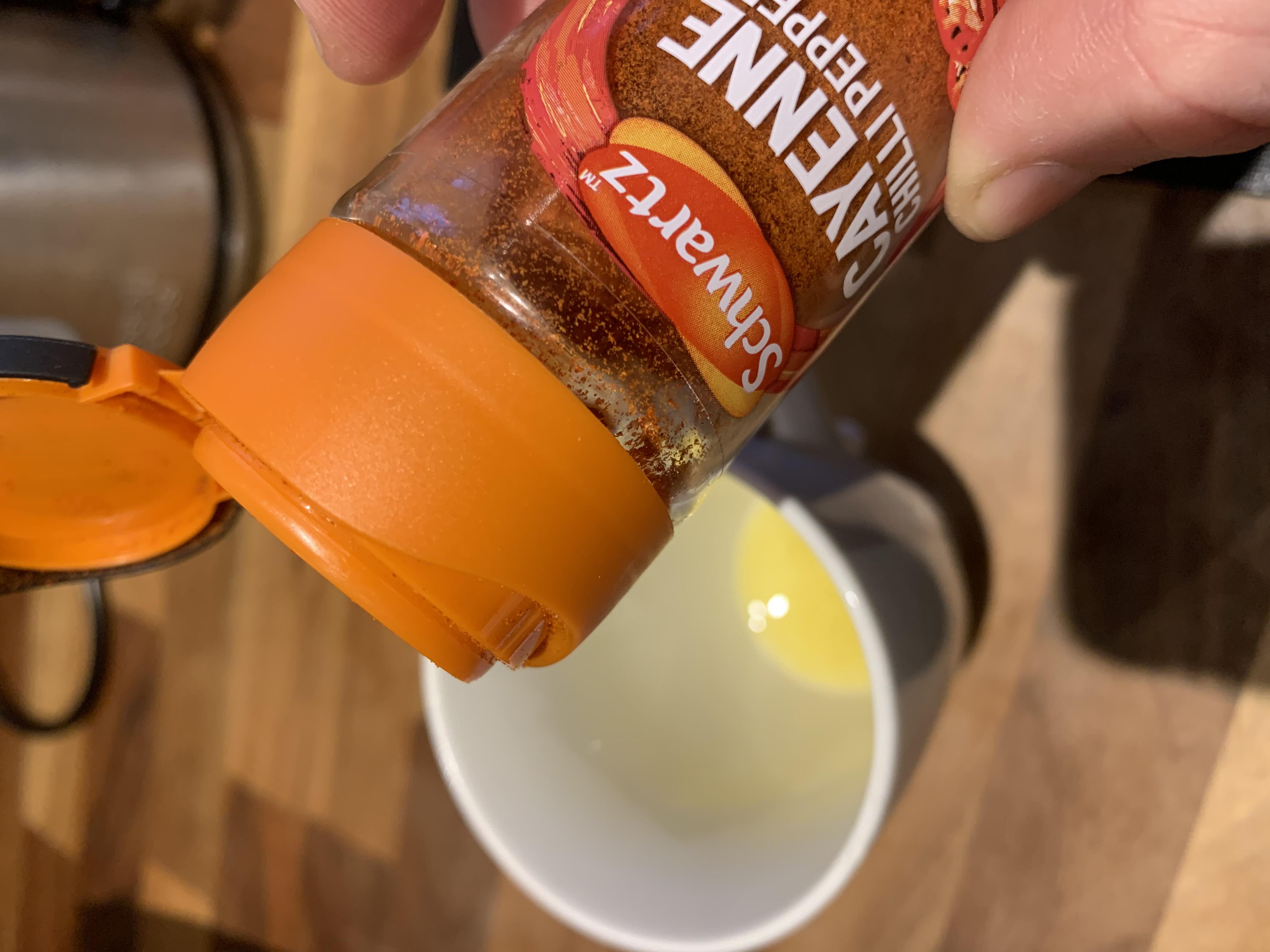 Ginger cayenne tea