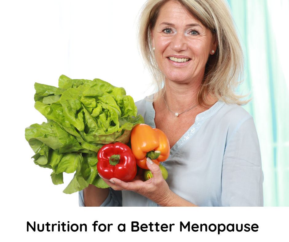 nutrition for a better menopause workshop
